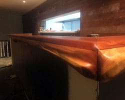 Timber Slab Bar