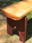 Bench seat construction
