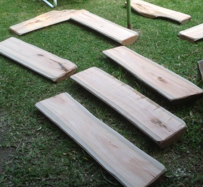 Bench Seat Construction Timber Furniture Sydney