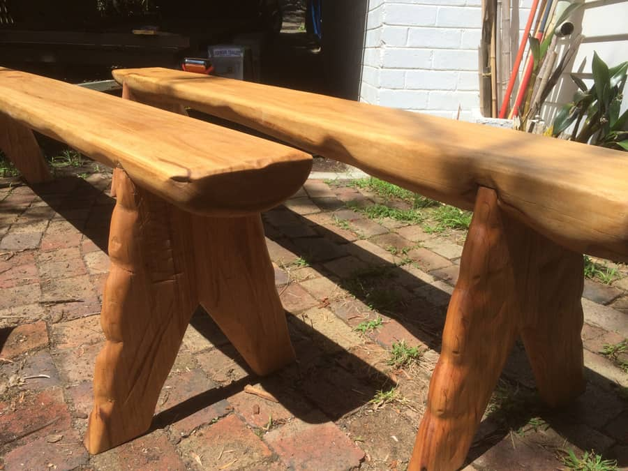 Timber Bench Seat Construction Timber Furniture Sydney
