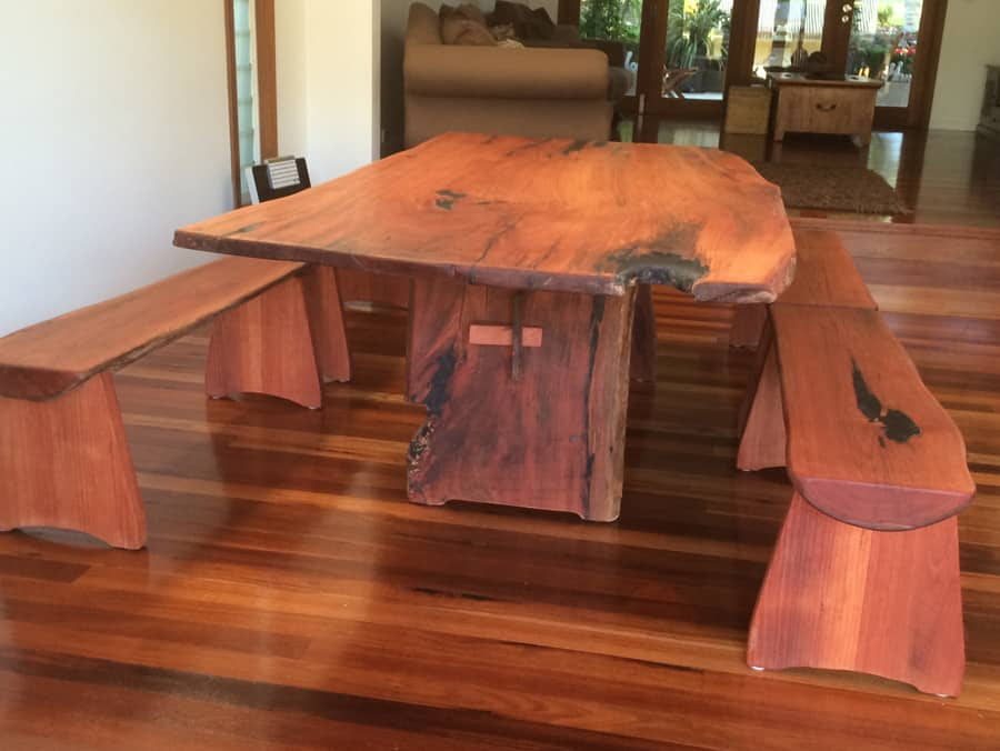 The Best 28 Images Of Timber Dining Table With Bench Seats