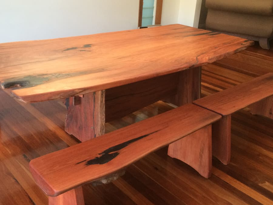 Dining Table Bench Seats Timber Furniture Sydney