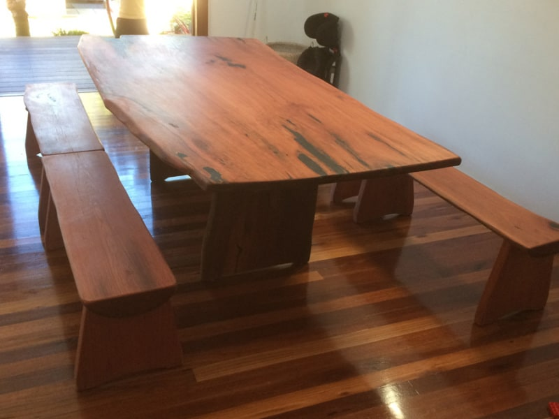 The Best 28 images of timber dining table with bench seats  : dining table19 800x600 from www.shareasecretmag.com size 800 x 600 jpeg 143kB