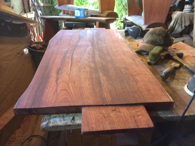 Dining table base center section