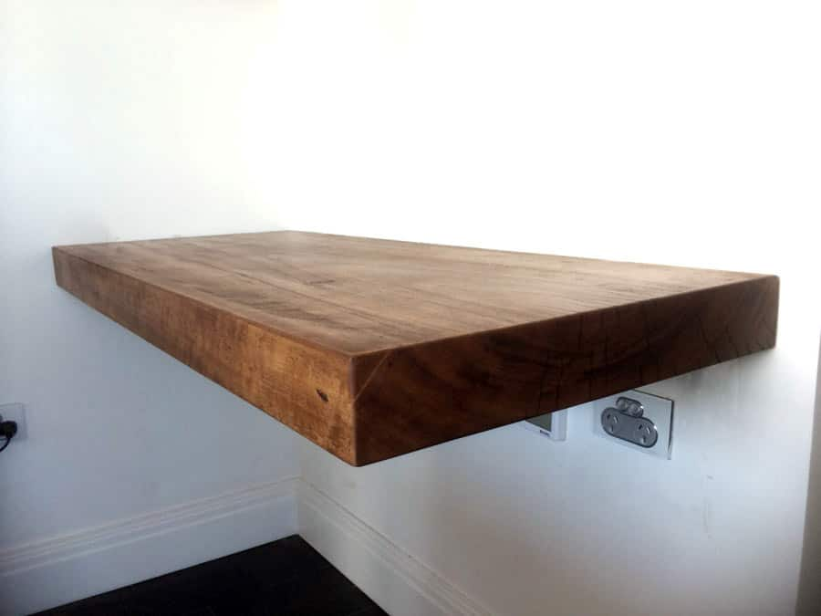 Timber Slab Floating Shelve Furniture Sydney