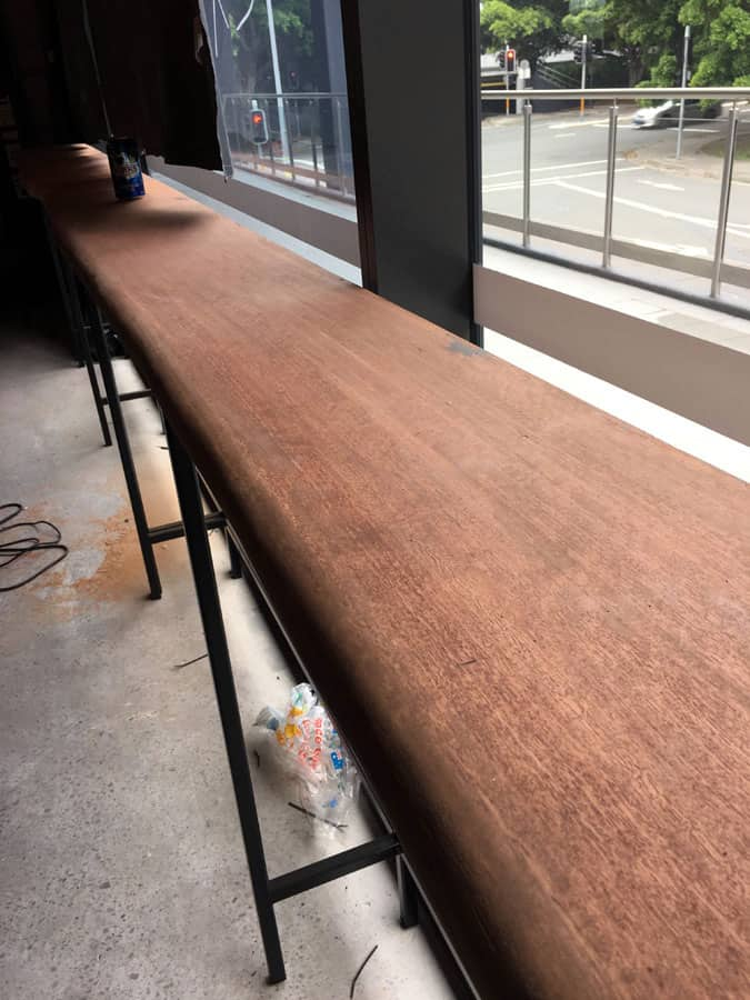 Blue Gum Slab Benchtops8 Timber Furniture Sydney