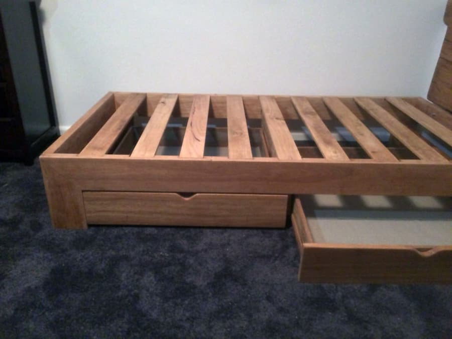 Custom Timber Bed Frame Timber Furniture Sydney
