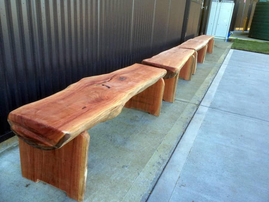 Bench Seats Bloodwood Timber Timber Furniture Sydney