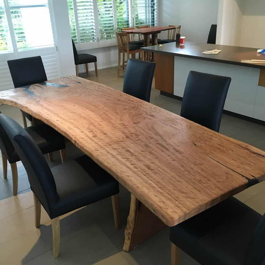 Live Edge Dining Table3 Timber Furniture Sydney